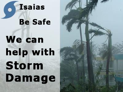 isaias storm damage fl